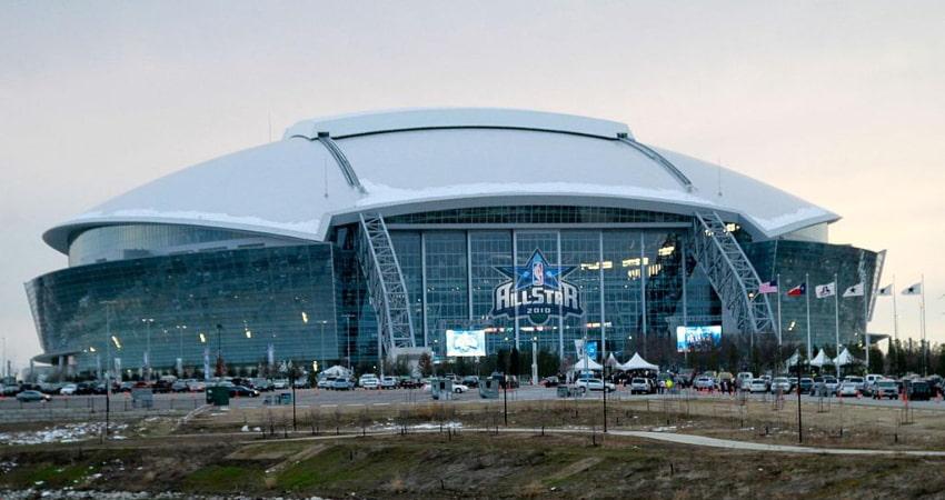 exterior of att&t stadium