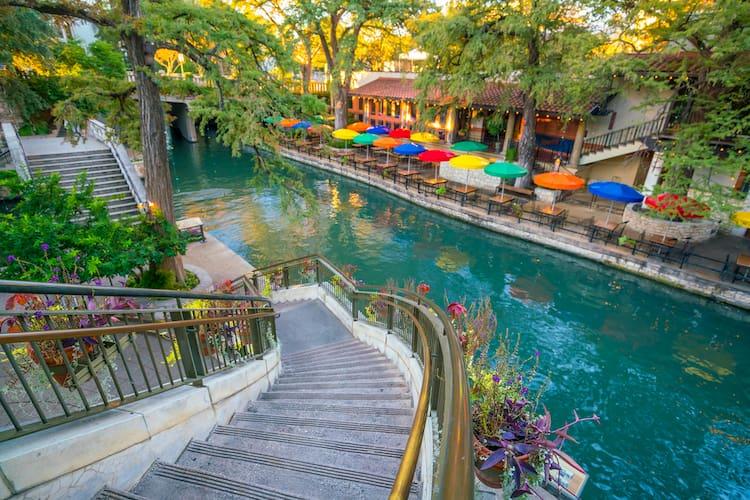 san antonio river walk group restaurants
