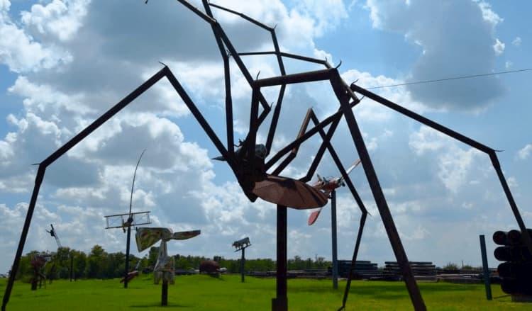 Eclectic Menagerie Park, Houston, Texas