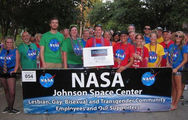 NASA employees attend Houston Pride