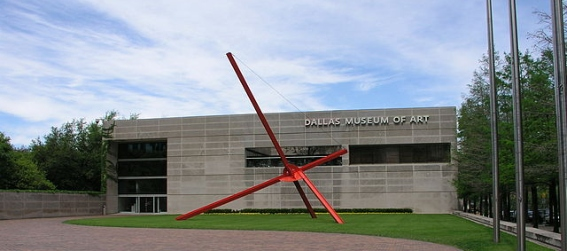 Entrance to the Dallas Museum of Art