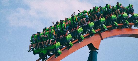 Six Flags over texas roller coaster